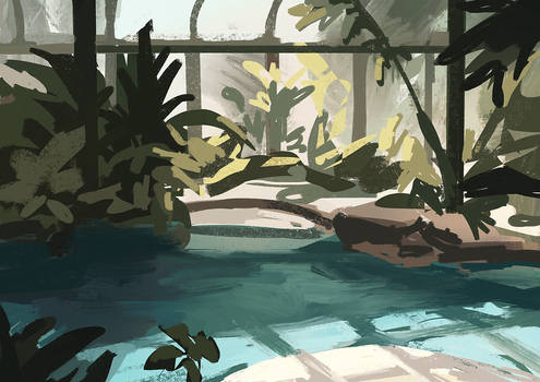 [+VIDEO] Greenhouse Pool