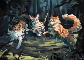 Magic Trio | Commission by shapetales