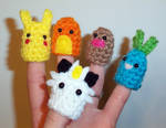 Pokemon Finger Puppets