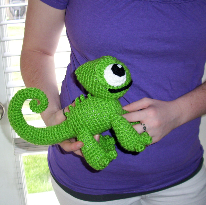 Giant Crochet Pascal Chameleon Plush By Happysquidmuffin On Deviantart