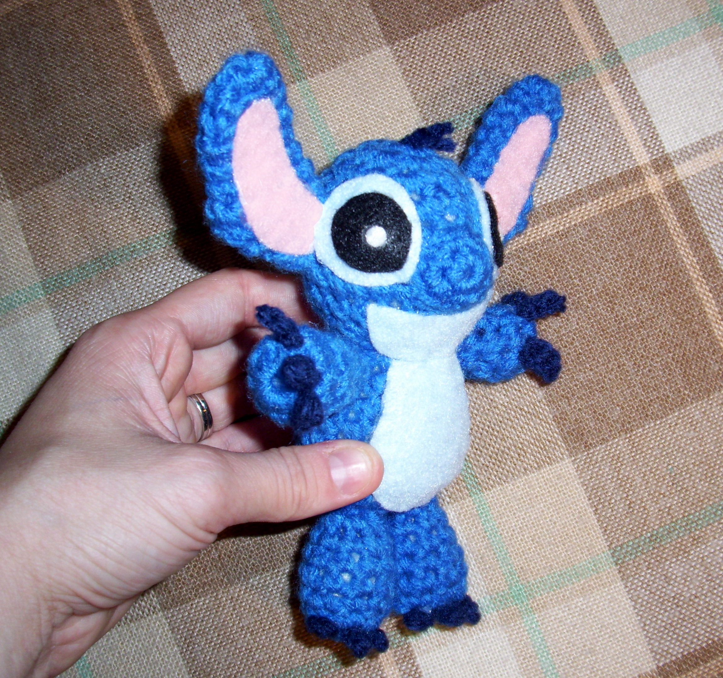 Stitch from lilo and stitch crocheted by happysquidmuffin for Lilo and stitch arts and crafts