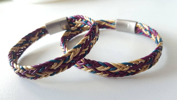 Braided wristbands