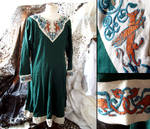 Lion and Griffins embroidery ~ Norman tunic