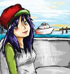 The Yacht Club by Watercolormush