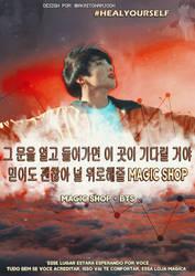 JUNGKOOK - CARTAZ MAGIC SHOP