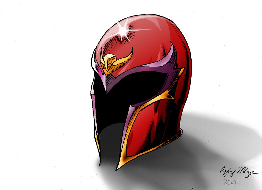 Magnetos Helmet By AzizDraws