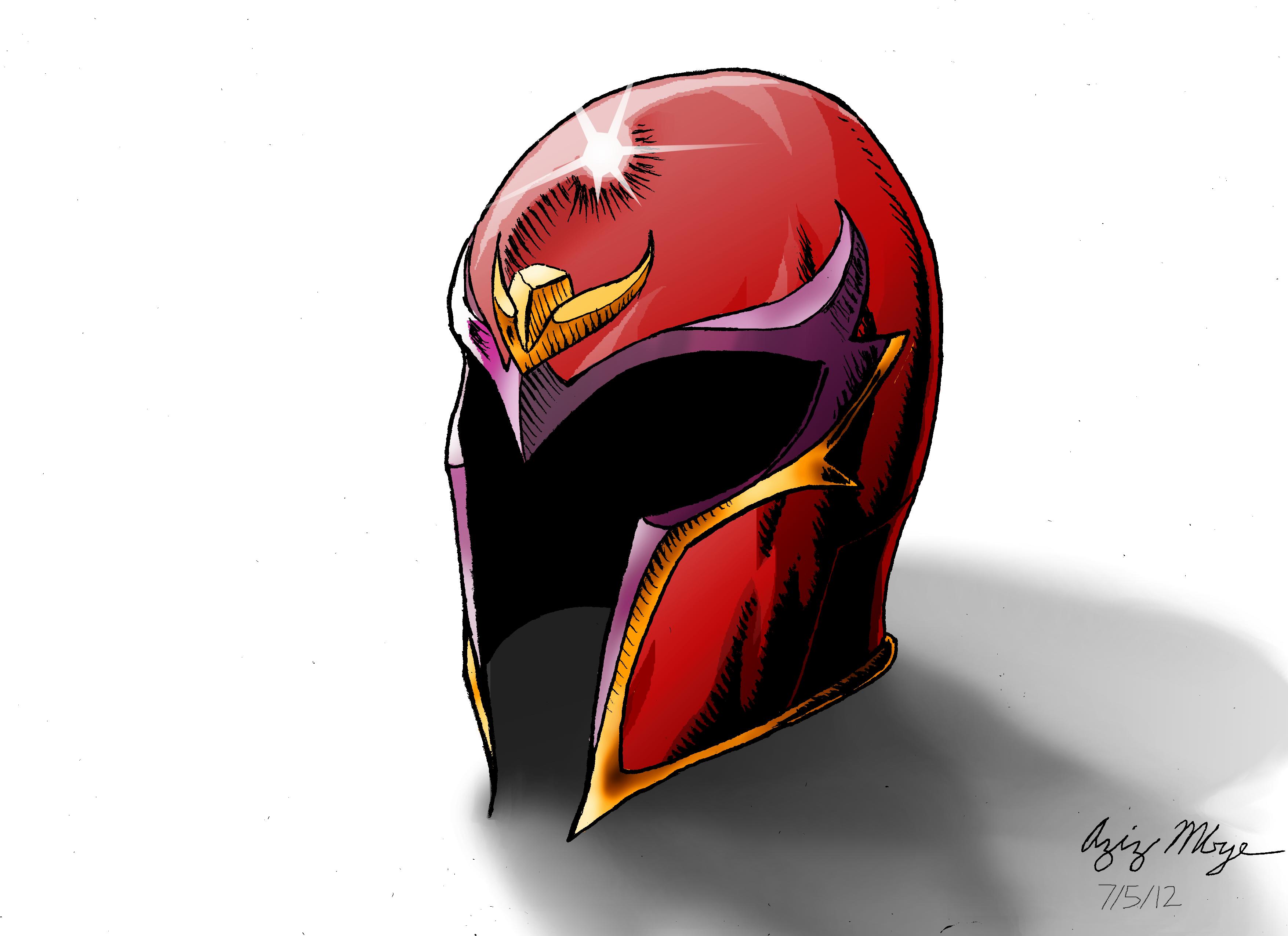 Magneto's Helmet by AzizDraws on DeviantArt