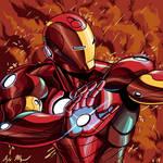 Iron Man Illustration