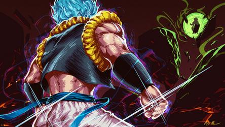 GOGETA|Dragon Ball Super: Broly by AzizDraws