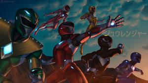 Iron Man x Power Rangers