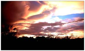 Desert Sunsets 2 by burningrain1213