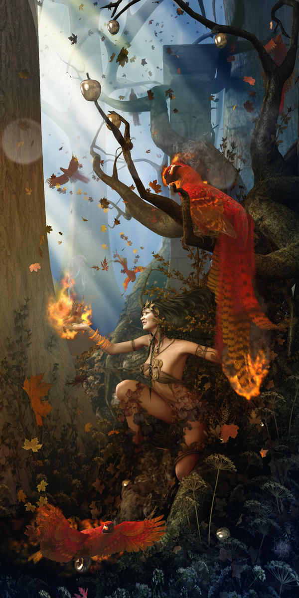 Waking Autumn by NightsongWS