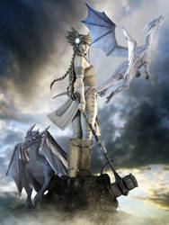 The Sky Angels' Guardian by NightsongWS