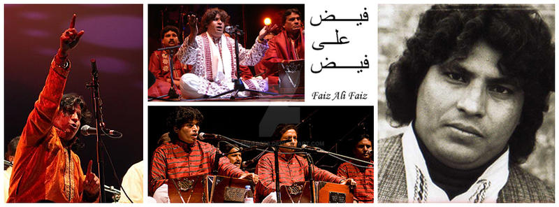 Faiz Ali Faiz Collage by Ender008