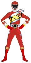 Red Tyranno Ranger by DerpMP6