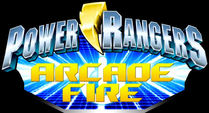 Power Rangers Arcade Fire Logo By Derpmp6 On Deviantart