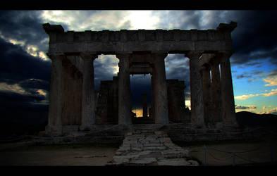 Temple of Afaia by giota4u