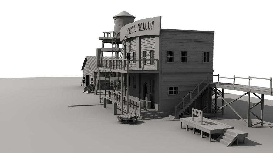 West Set WIP by DuffMan256