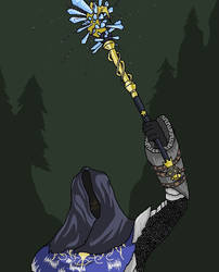 Nemesis, The Forest Shotgun by RigbyTheDrawguy
