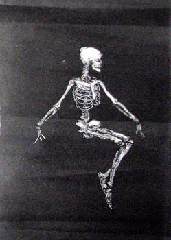 Dancer B - skeleton