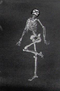 Dancer C - skeleton