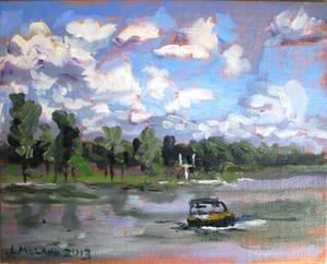 Lake Anna - Boat