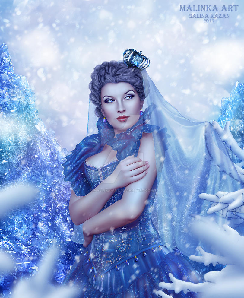 The Snow Queen by Malinka-art