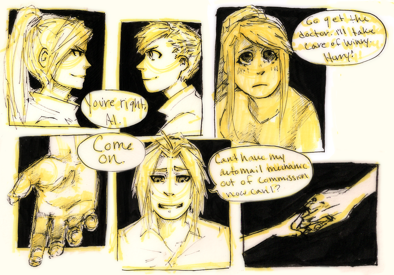FMA Omake: Memories p7 by roolph