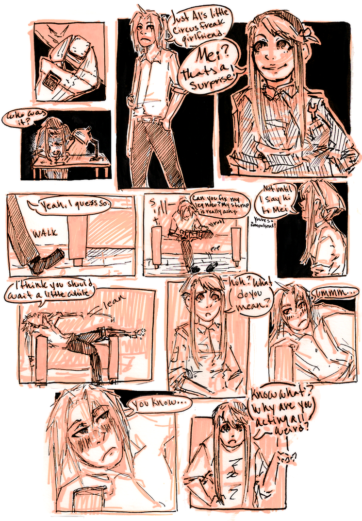 FMA Omake: It's Been a While p8 by roolph