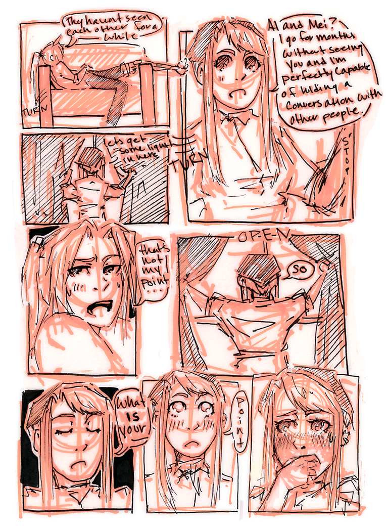 FMA Omake: It's Been a While p9 by roolph