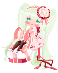 My Fairy Doll with cute green hair by kawaiiprincess2