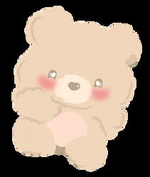 Teddy Bear by kawaiiprincess2