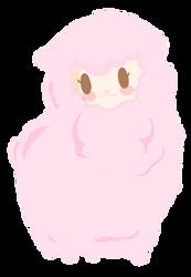 Pink Alpaca by kawaiiprincess2