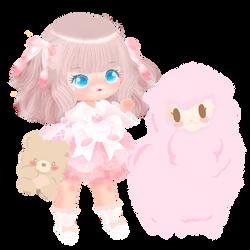 Sweet Pink Lolita by kawaiiprincess2