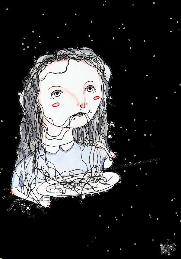 Comiendo by Alphredito