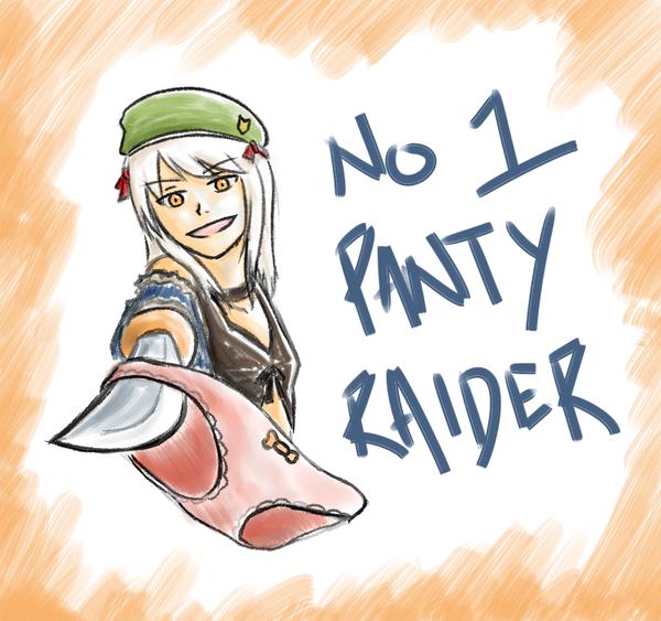 NO. 1 PANTY RAIDER by Schyph