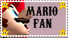 I Heart Mario - Stamp by FacetiousKellyAna