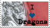 Dragon Stamp by FacetiousKellyAna
