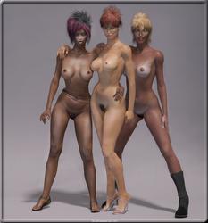 Suelma, Sirya and Donatella by Y-Phil