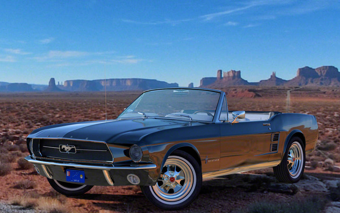 1967 ford mustang convertible by y phil