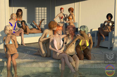 WIP: Swimming Pool: 11 girls
