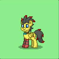 My OC (ponytown version)