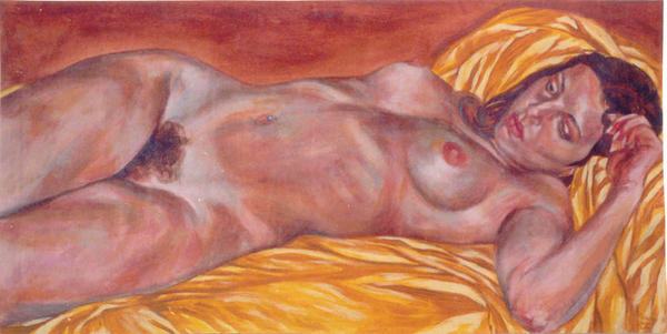 Reclined Nude by Cunachu