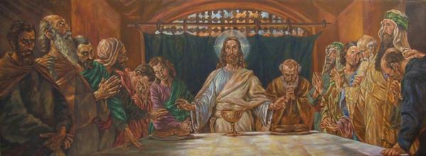 Last Supper by Cunachu