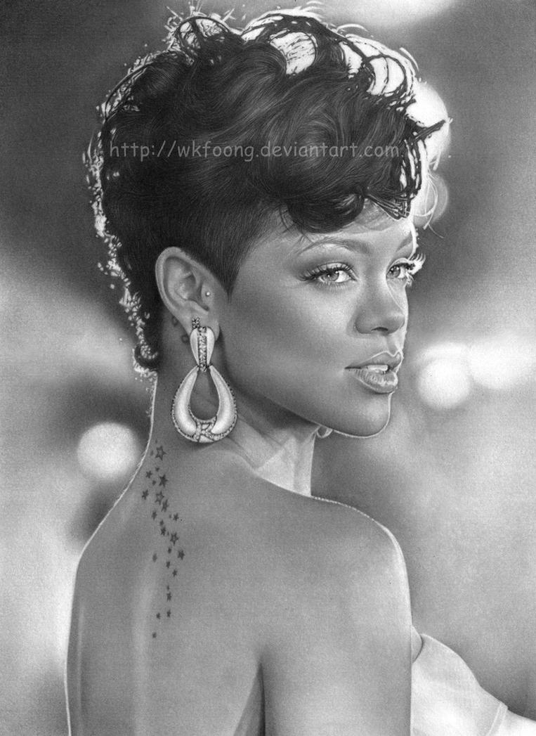 Rihanna by wkfoong