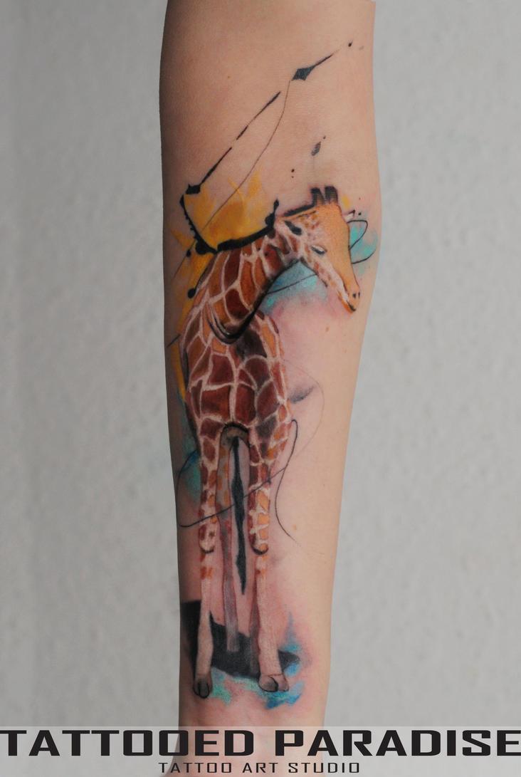giraffe Joe by dopeindulgence