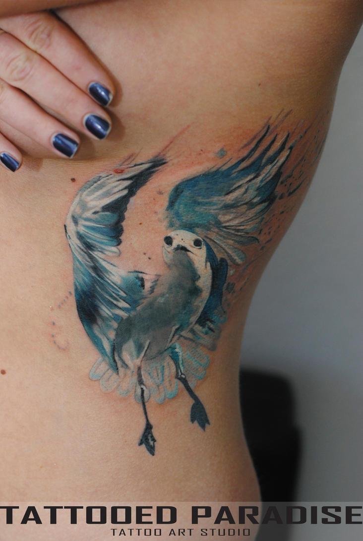 Seagull Tattoo