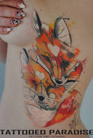 foxes by dopeindulgence