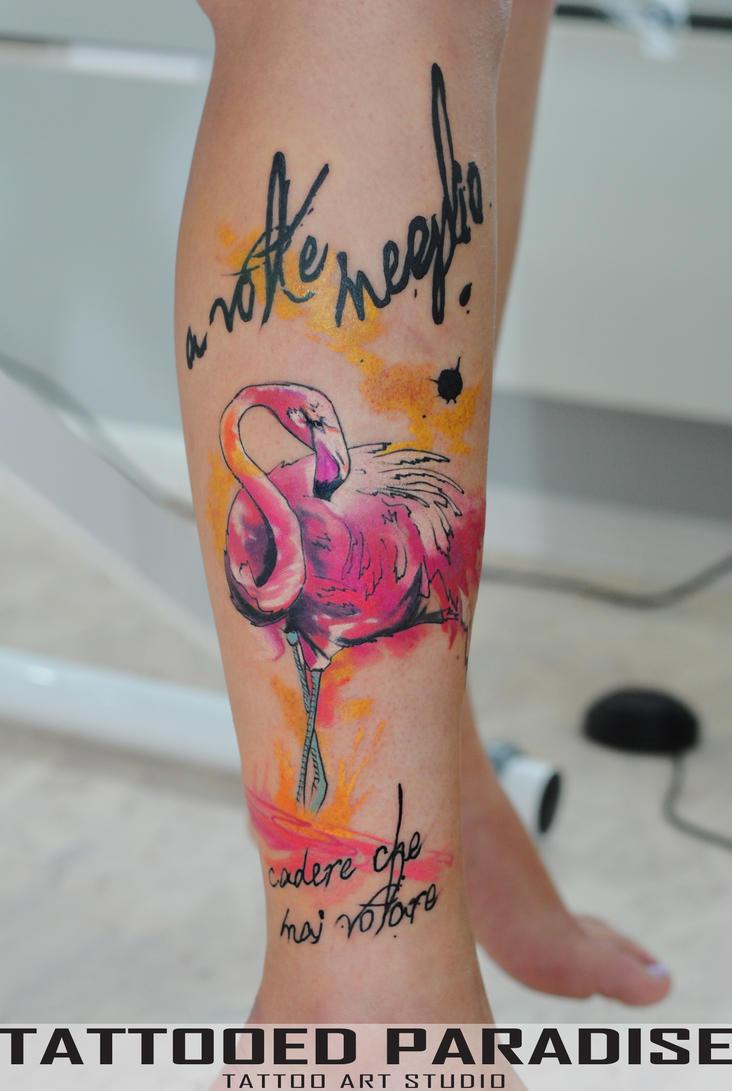 flamingo) by dopeindulgence