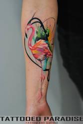 Flamingo Tatt